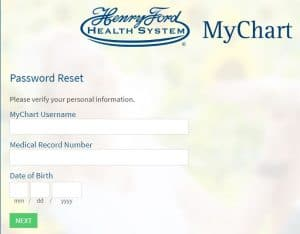 Forgot Password Henry Ford Health System