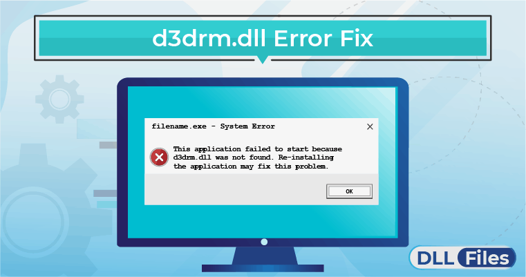 d3drm.dll Error Fix