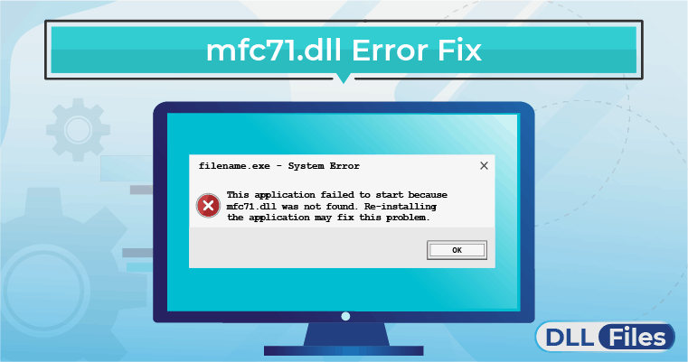 mfc71.dll Error Fix