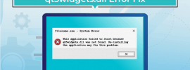 qt5widgets.dll error